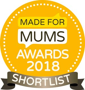 Made for Mums Awards Shortlist 2018