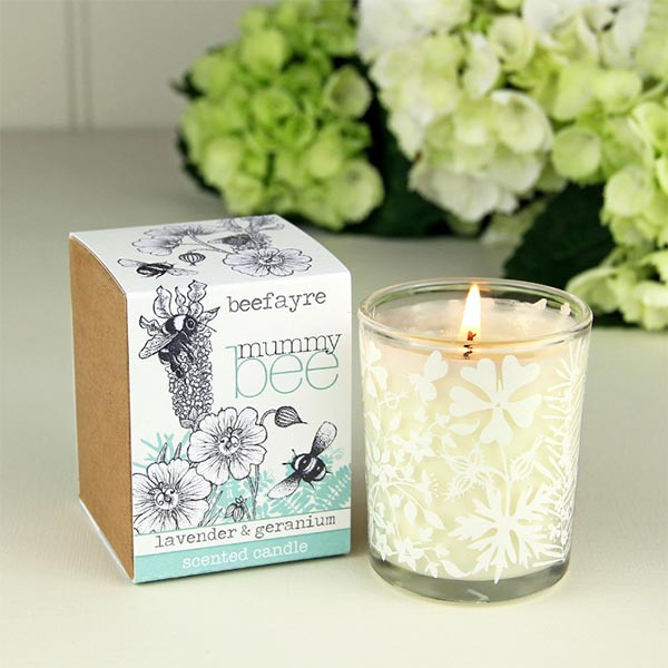 Scented candle for new Mums