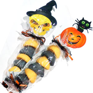 Halloween Pumpkin Marshmallows