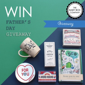 Win Father's Day Treats in our 2017 Giveaway