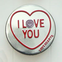 Swizzles love hearts tin