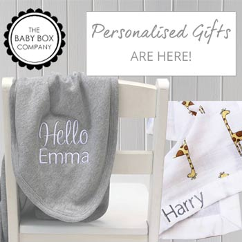 EXCITING NEWS! Our Personalised Baby Gifts are here!
