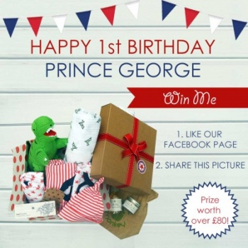Prince George's first birthday giveaway
