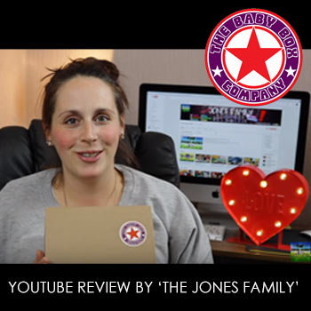 Youtube video review of our boxes by 'The Jones Family'