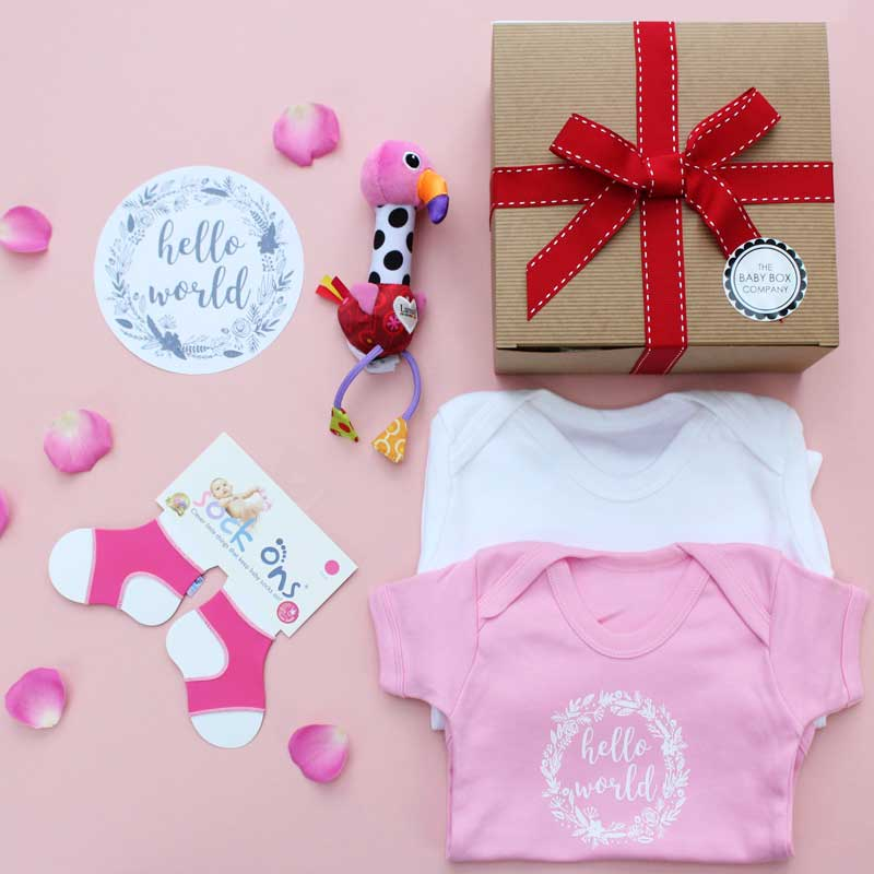 new girls baby hampers