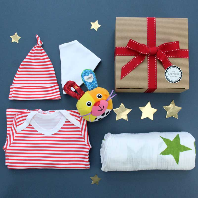 not your standard baby hampers