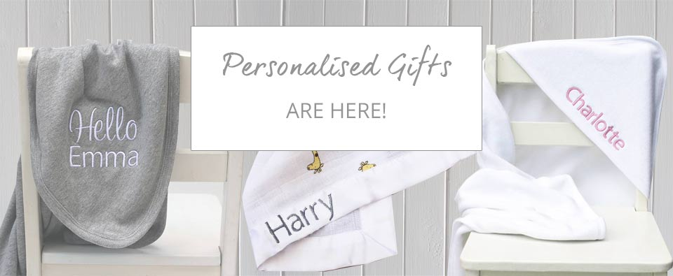 Personalised Baby Gifts from The Baby Box Company