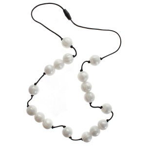 Gumigem Hail White Teething Necklace