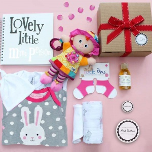 The Ultimate Luxury Baby Hamper - Girls