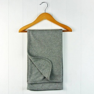 Grey Cotton Baby Blanket
