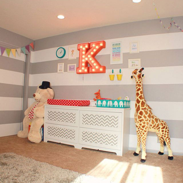 Circus nursery decor 1