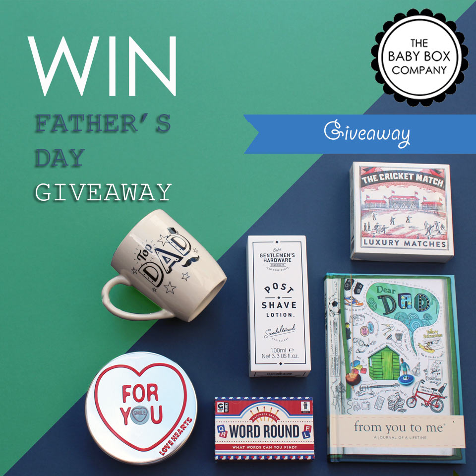 The Baby Box Company's Father's Day giveaway 2017