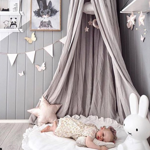 Baby Nursery decor, Statement grey bedroom girls