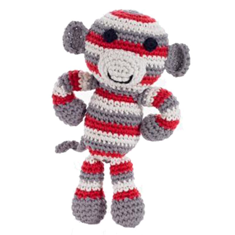 baby knitted monkey