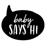 Baby Says Hi Clothing