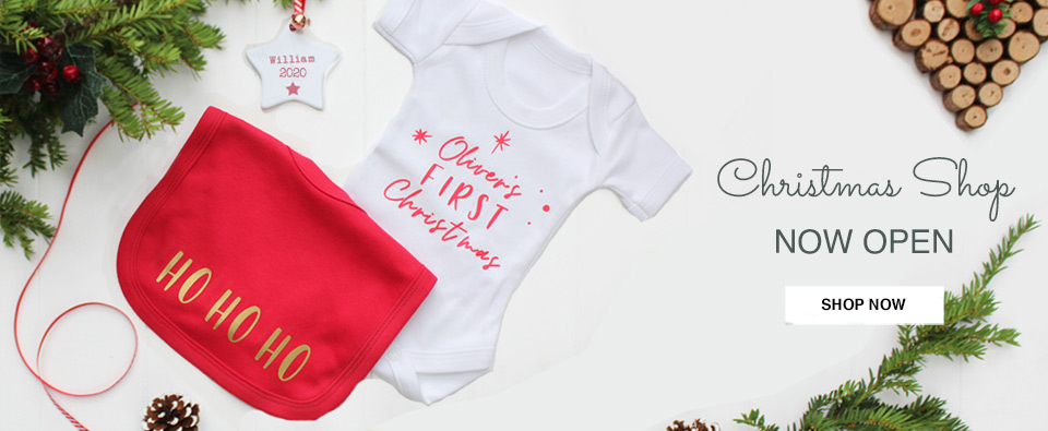 Christmas 2020 Baby's First Christmas Personalised Gifts