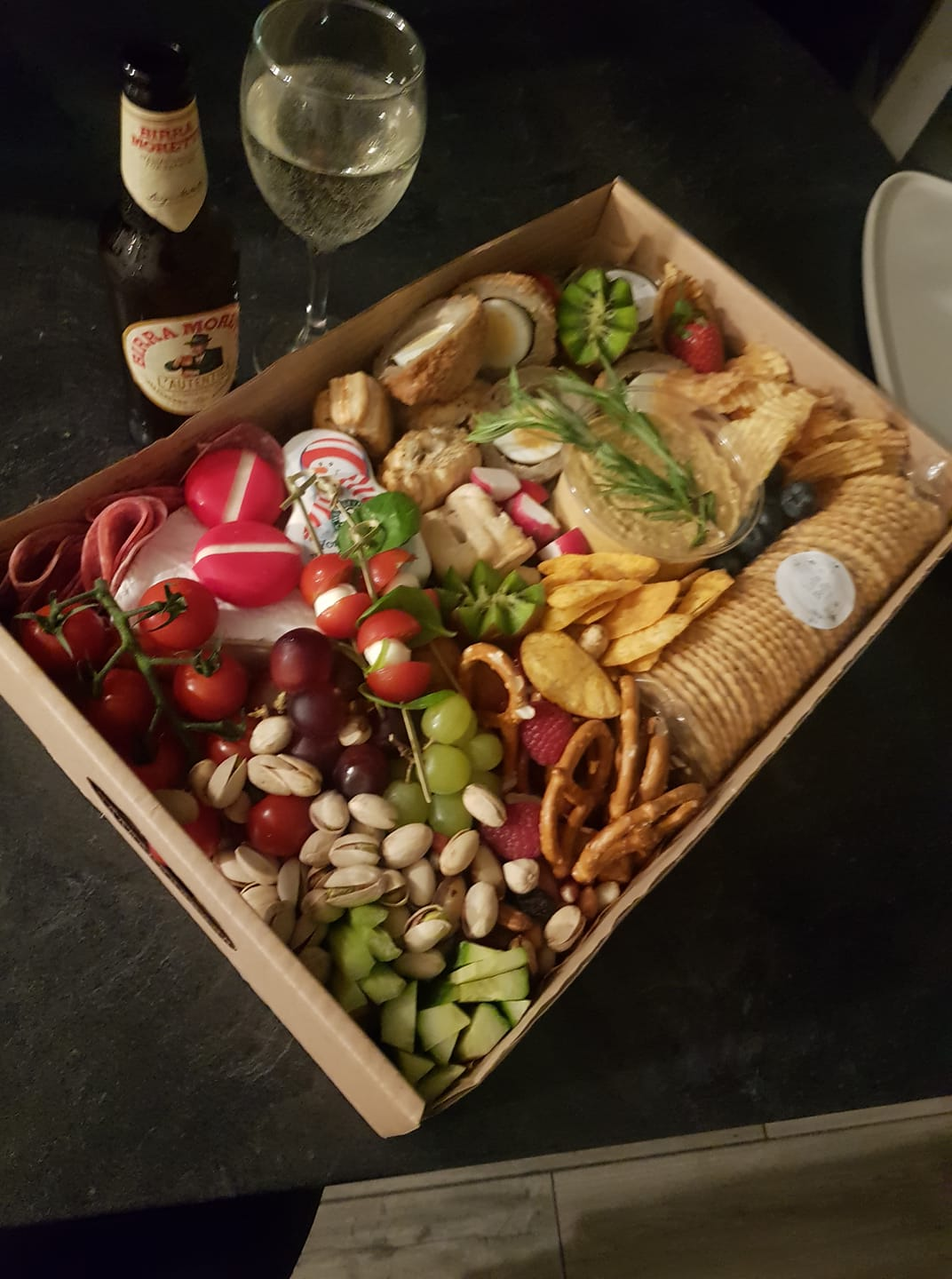 Food Grazing Box for Baby Shower