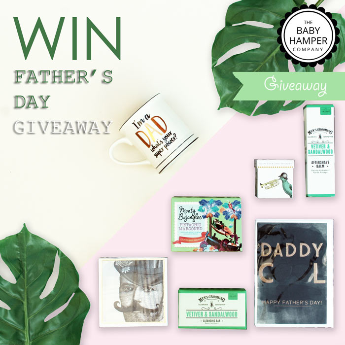 The Baby Hamper Company's Father's Day giveaway 2019