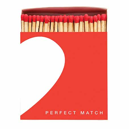 Perfect Match designer matchbox