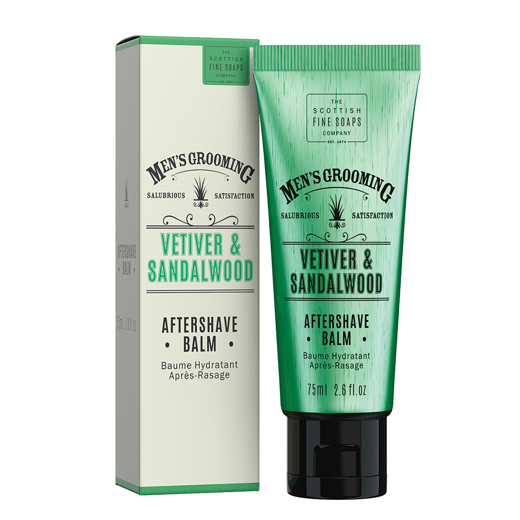 Men's Grooming Vetiver & Sandalwood Aftershave Balm