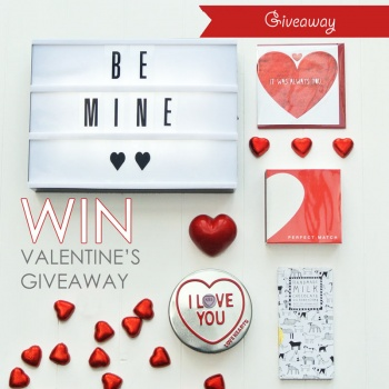 Valentines Day Baby Gift giveaway