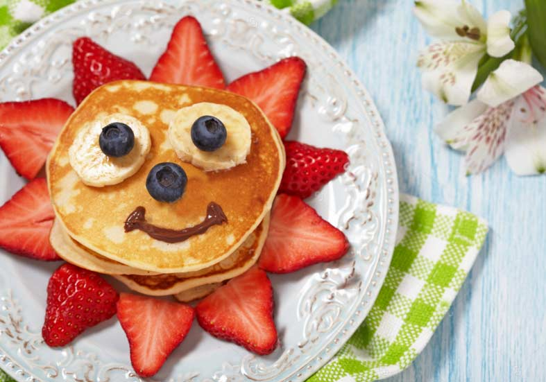 Easy pancake recipe for babies and the whole family