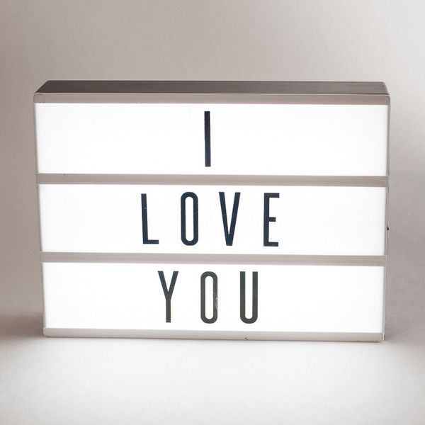 Cinema style light box