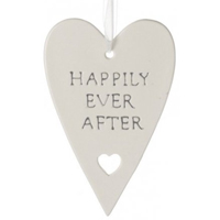 Happily Ever After hanging heart by Shruti