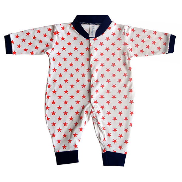 Baby Bunting star print romper suit