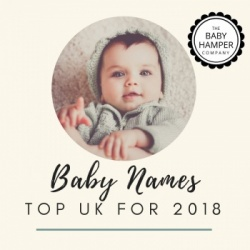 Revealed... the Top UK Baby Names for 2018 into 2019