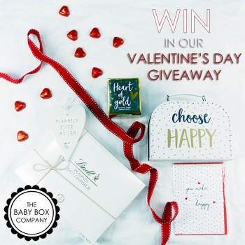 Valentines Day 2018 Hamper Giveaway with The Baby Box Company