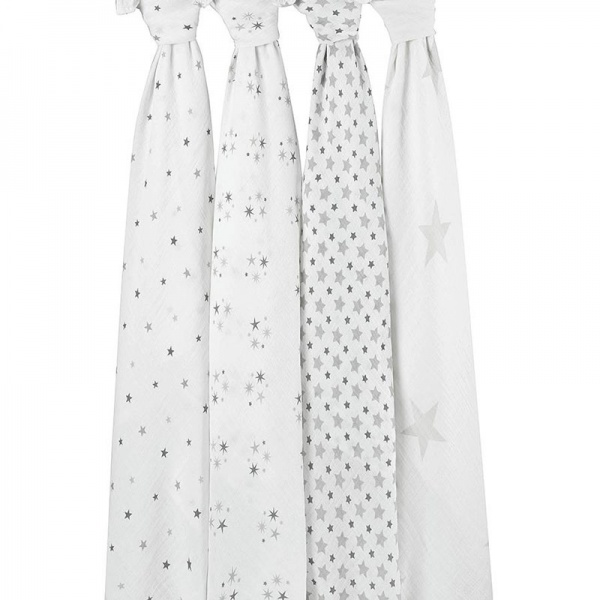 Aden & Anais Twinkle Stars Large Swaddle - Single
