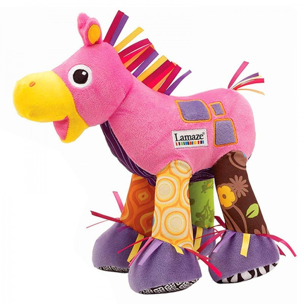 Lamaze Trotter the Pony Sensory Baby Toy - Pink