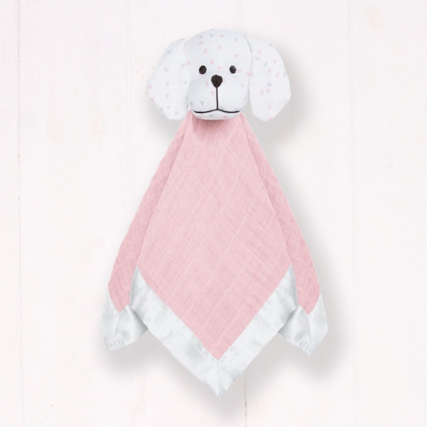 Aden + Anais Musy Mate Puppy - Pink