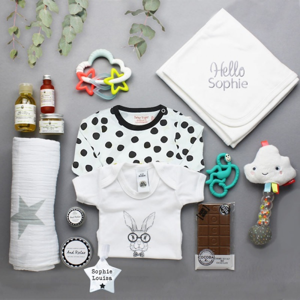 Personalised Baby Hamper Designer
