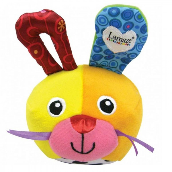 Lamaze Giggle Bunny Ball Toy
