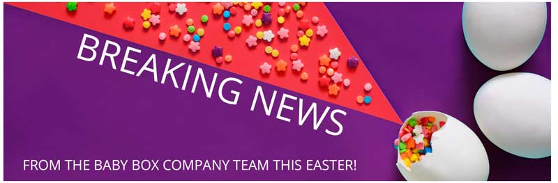 Breaking news this Easter from The Baby Box Company