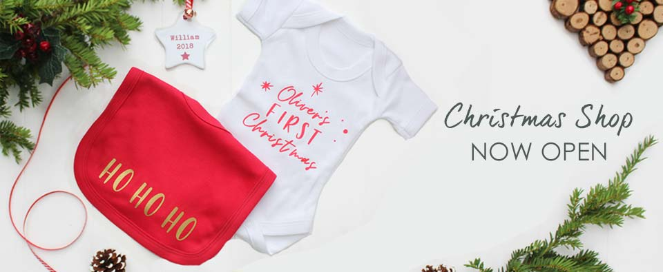 f82607f4fc9f1 Christmas 2018 Baby s First Christmas Personalised Gifts