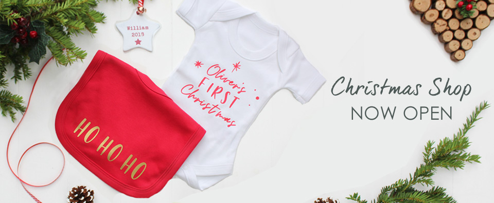 Christmas 2018 Baby's First Christmas Personalised Gifts