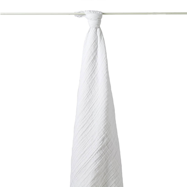 Plain White Baby Muslin Cloth