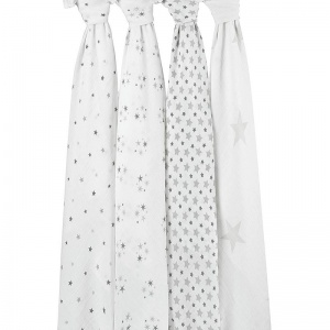 Aden + Anais Twinkle Stars Large Swaddle - Single