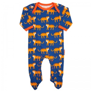 Toby Tiger, Tiger print  Sleepsuit for Boys