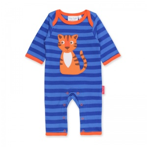 Toby Tiger Boys Happy Tiger Sleepsuit