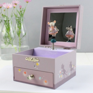 Musical Magical Mouse Keepsake Jewellery Box
