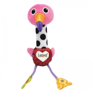 Lamaze Cheery Chirpers Flamingo Toy