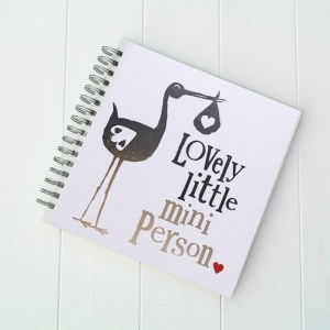 Lovely Mini Person Baby Memories Scrapbook