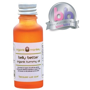 Organic Monkey Better Belly Oil 30ml