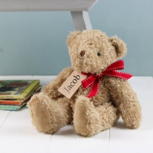 Personalised Keepsake Traditional Teddy Bear
