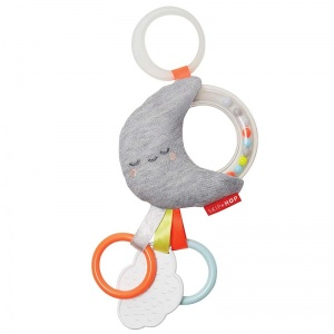 Skip Hop Silver Lining Moon Stroller Toy