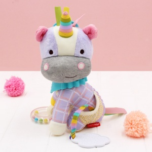 Skip Hop Unicorn Bandana Buddy Soft Toy